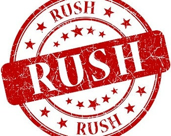 Rush my order! Faster processing & Expedited Shipping!!!!