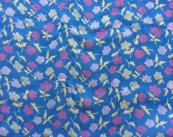 Vintage Sheer Floral Fabric