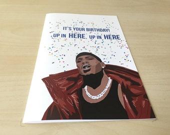 DMX Birthday Card