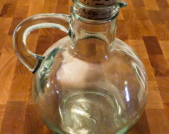Recycled Glass Cruet