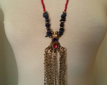 Necklace AFGHAN 100%