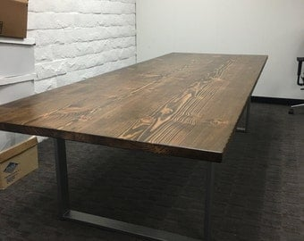 Handmade Reclaimed Wood Conference/Dinner Table