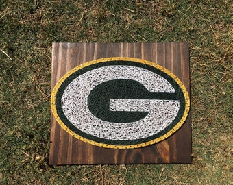 MADE TO ORDER Green Bay Packers String Board