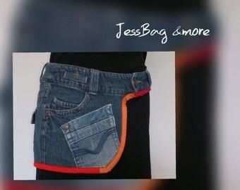 Jeans - HüTa - Feutre - Hipbag