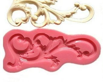 Baroque Lace Silicone Mold