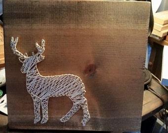 Deer/ Buck String Art Sign