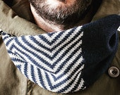 WOOL\LO scarf//Grandfather Series//Blue | Grey//size 100% wool unisex comfort//////