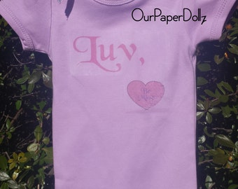 Ana's Luv Onesie by OurPaperDollz