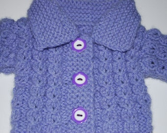 Waldorf Doll Cardigan Sweater