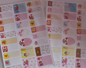 Kawaii/ Cute Rilakkuma Sticky notes