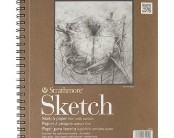 NEW Strathmore Series 400 Sketch Pads 9 in. x 12 in. - pad of 100 - FAST SHIPPING!!!