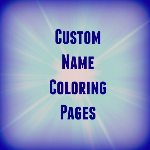 31 Printable Name Coloring Pages Color Your Custom
