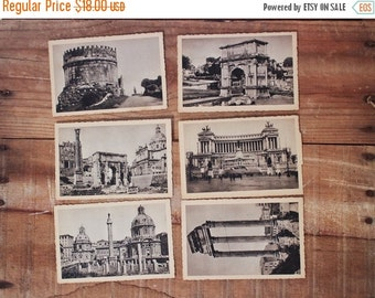 ON SALE / turn of the century rome italy photo postcards