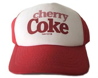 Vintage Cherry Coke Mesh Hat