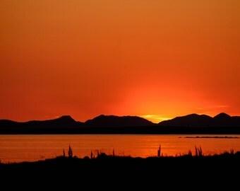 Sunset in Ballyvaughan, Ireland