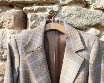 Fitted Jacket, Pure Wool by Alain Manoukian
