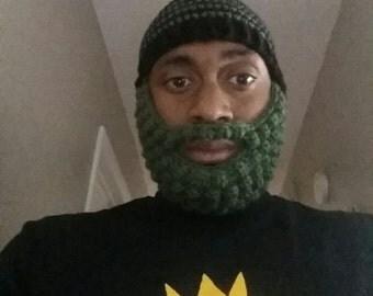 Adult Beanie beard hat