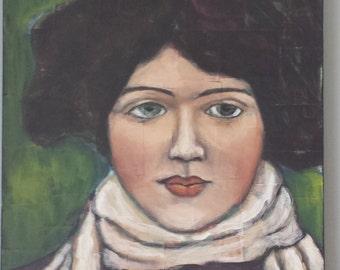 Dark haired beauty Portrait