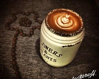Flower pot coffee