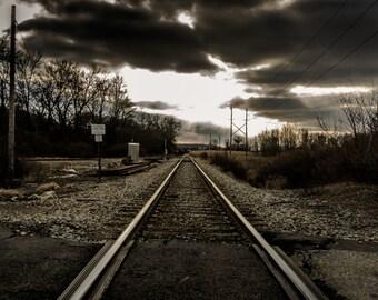 Gloomy Railroad