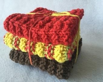 Knit Cotton Dishcloths