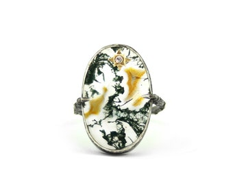 Agate Branch Ring