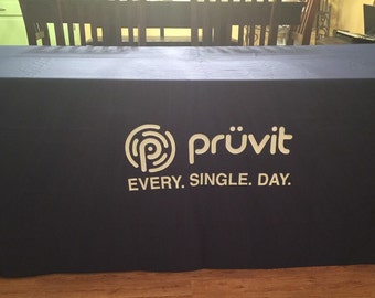 Pruvit Tablecloth, Pruvit Every. Single. Day. Tablecloth, Pruvit Items, Pruvit Tablecloth for Mixers and Events