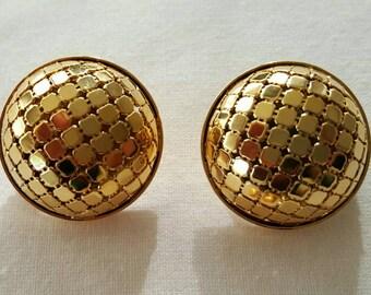 Mesh earrings