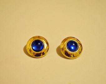 Button clip on earring