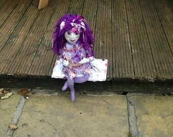 Art doll, faery, angel, fantasy, mystical magical, decorative only,,,,,,