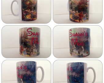 personalised mug cup wizard of oz dorothy toto judy garland kansas gift present oil painting