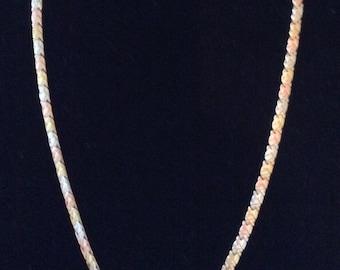 10k Tri color necklace