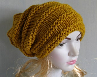 womens hat, women slouchy beanie, winter hat, women slouchy hat, slouchy knit hat, slouchy beanie hat, women knit slouchy hat