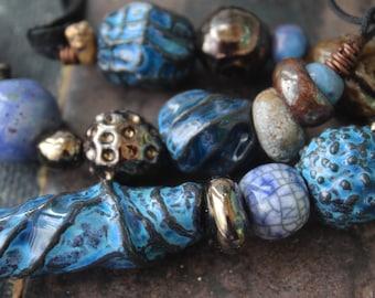 "ceramic necklace ""Treasure of Atlantis"""