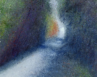 Crickley Hill  #1 - fine art giclee print