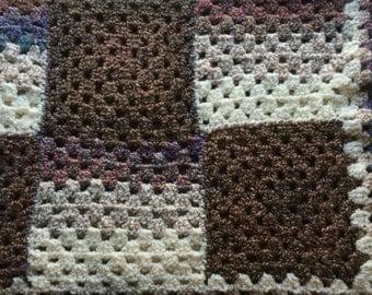 Soft Throw Afghan, handmade, made to order