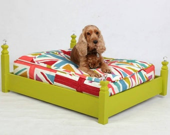 Chi Ki Paws Union Jack Pet Bed