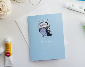 Hoot - Thank You Card