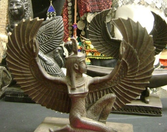 Vintage Maat is the Egyptian Goddess of order, truth, and justice Made In Egypt