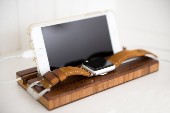 fathers day gift docking station apple watch dock iphone. Black Bedroom Furniture Sets. Home Design Ideas