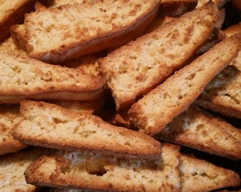 Homemade Lemon Biscotti - 24 Cookies