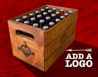 Vintage Beer Crate - 24 Bottles