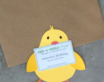 Little Chick Invitation (Set of 8)