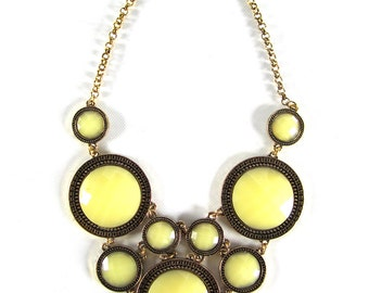 Vintage Dainty Circles Necklace