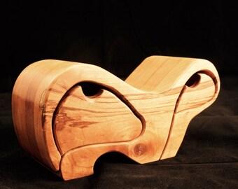 Unique Solid Wood Organizing Boxes
