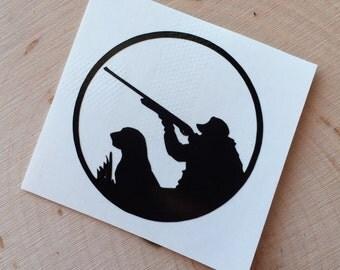 Vinyl Hunting Decal - Hunting YETI Decal - Mens YETI Decal