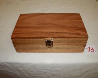 White Cedar Rectangular Jewelery Box