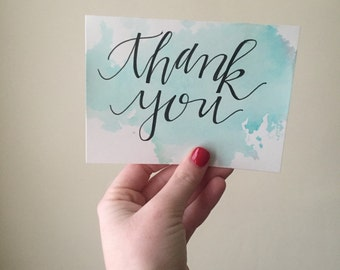 Thank You card style #3
