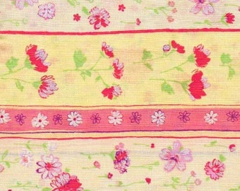 Dainty Blooms - BTY - Hoffman - Repeating Stripe