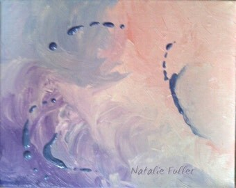 "Pastel Abstract ""Butterfly Kisses"""